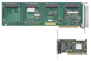 Comparing ISA to PCI card